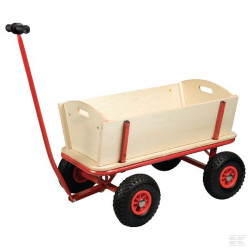 Chariot en bois de jardin...